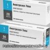 Анастрозол-тева - інструкція, застосування, аналоги, склад, побічні дії