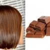 Колір волосся молочний шоколад