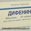 Дифенін - про інструкції із застосування, механізм дії, аналогах таблеток