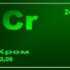 Функції хрому в організмі людини