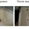 Як відчистити ванну білого?