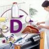 Які продукти харчування містять вітамін d
