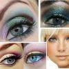 Макіяж для сіро-блакитних очей. Сполучуваність з кольором волосся і особливості вибору тіней