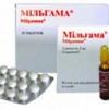 Мильгамма таблетки, уколи: застосування, інструкція, показання до застосування, аналоги, склад, протипоказання, дія, побічні дії