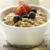 Вівсяна каша на молоці: калорійність, рецепт