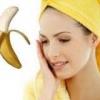 Користь бананової маски для обличчя