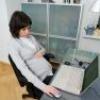 Робота за комп'ютером під час вагітності