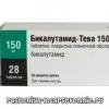 Рак простати - лікування бікалутамід тева (інструкція із застосування)