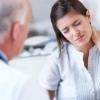 Симптоми грижі шийного відділу хребта