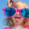 Сонцезахисні окуляри для маленьких дітей