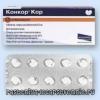 Таблетки конкор кор - протипоказання, дія, побічні ефекти, аналоги, дозування, склад, як приймати, опис