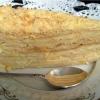 Торт наполеон з листкового тіста