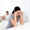 Трудности в отношениях и расставание пары