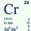 У яких продуктах міститься хром cr?