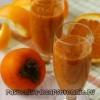 Варення з хурми і апельсина, рецепти