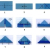 Заяц оригами: способ изготовления. Схема для модульного оригами заяц